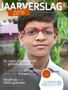 Cover_India Mission_Jaarverslag 2016
